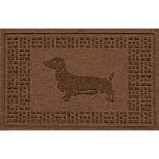 Rubber Cal Wipe Your Paws Dachshund Boot Scraper U0026 Reviews Birch Lane