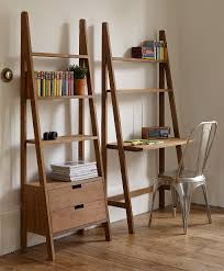 bookcases with ladder sumatra ladder design desk desks condo living and smallest house