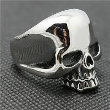 steel skull rings images Old school badass sturgis stainless steel skull ring very jpg