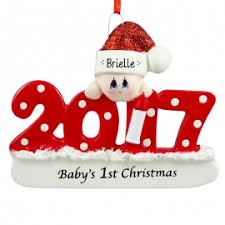 baby u0027s first christmas ornaments for you