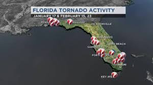 Florida Tornado Map by Orlando News Videos Wftv