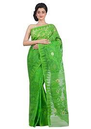 dhakai jamdani saree green dhakai jamdani saree buy collections page 2