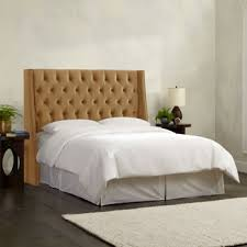 Costco Bed Frame Metal Costco Olympia Tufted Upholstered Headboard In Moccasin Various