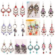 earrings styles big earrings bohemian style costume jewelry 20pairs lot