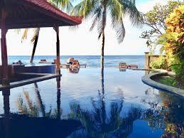 paradise palm beach bungalows east bali accommodation hsh stay