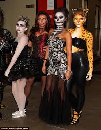 perrie edwards and little mix dress up for celebrity juice