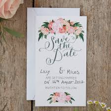 save the date wedding cards boho floral save the date wedding cards by