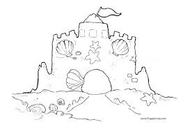 Unique Sandcastle Coloring Page 22 On Seasonal Colouring Pages Sandcastle Coloring Page