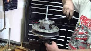 qsc clutch kit install sportsman 550 850 1000 and 1000 scrambler