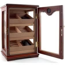 cigar humidor display cabinet amazon com cuban crafters rosewood display cigar humidor 100 count