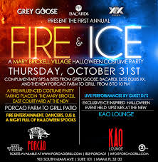 fire and ice halloween costume party 10 31 13 the soul of miami