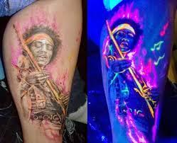 jimi hendryx blacklight tattoo tattoos pinterest tattoo