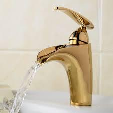 aliexpress com buy newest gilded design crane waterfall bathroom