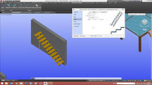 Home Design 3d Ipad Stairs by Stair U0026 Railing Designer For Advance Steel Autodesk Advance