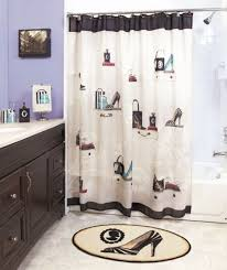Bathroom Sets Shower Curtain Rugs New Complete 18pc Fashionista Bathroom Set Shower Curtain Rug