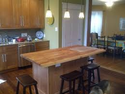 kitchen island butcher block table oak butcher block table prep with top cutting board island kitchen