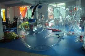 Human Pool Table by Summer Swimming Pool Inflatable Human Sized Hamster Ball For Water