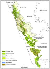 eastern ghats land use and vegetation of the elephant habitats in the western