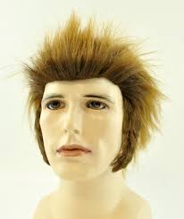 mens werewolf wolfman wig costumes wigs theater makeup and