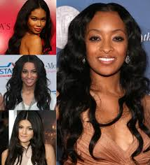 pics of black woman clip on hairstyle chic winter hairstyles for black women with black hair extensions