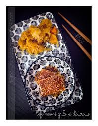 cuisiner la choucroute crue choucroute végétarienne et tofu mariné cuisiner la choucroute crue