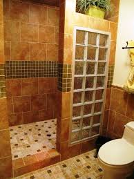 Design Bathrooms Glass Block Bathroom Designs Bathroom Design Traditional Blue And