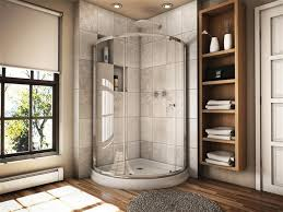 Curved Shower Doors Fleurco Banyo Amalfi 32 Arc 3 Curved Glass Shower Door