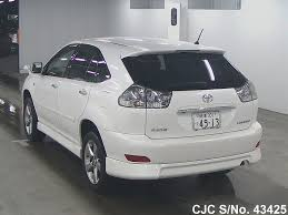 toyota lexus harrier 2004 2004 toyota harrier pearl for sale stock no 43425 japanese