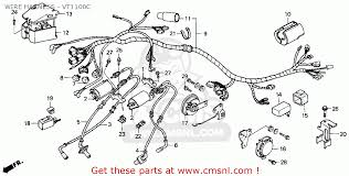 2002 honda vt1100 wiring diagram 1995 honda shadow 1100 wiring