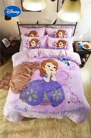 Sofia Bedding Set Disney Sofia Princess 3d Printed Flannel Bedding Sets