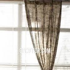 Brown Burlap Curtains Cheap Affordable Living Room Brown Floral Burlap Curtains