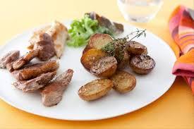 cuisine plancha facile recette de plancha de viandes pommes grenaille facile et rapide