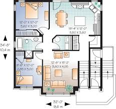 multifamily plan 64883 at endearing family house plans home