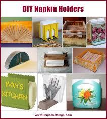 napkin holder ideas diy napkin holders the bright ideas