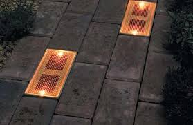 Patio Paver Lights General Tips Installing Paver Lights Crazygoodbread