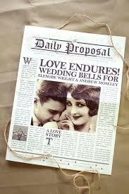 newspaper wedding programs 25 ingenious ways to keep your guests informed everafterguide