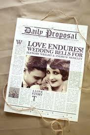 Newspaper Wedding Program 25 Ingenious Ways To Keep Your Guests Informed Everafterguide