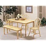 Farmhouse Dining Room Table by Amazon Com Farmhouse Tables Kitchen U0026 Dining Room Furniture