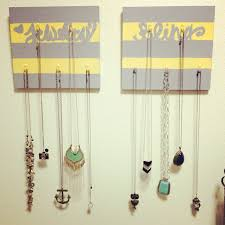 Jewelry Wall Hanger Diy Jewelry Hanger The Dainty Bird