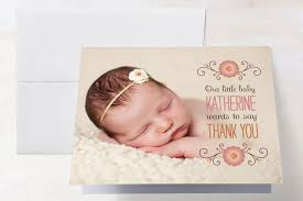 baby thank you cards baby says thank you cards by c minted