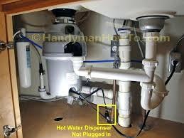 Clogged Kitchen Sink Drain With Garbage Disposal Astounding Dishwasher Installed Beautiful Graceful Plumbing