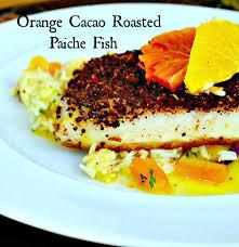 Seeking Branzino Cast This Is How I Cook Orange Cacao Rub Roasted Paiche Fish