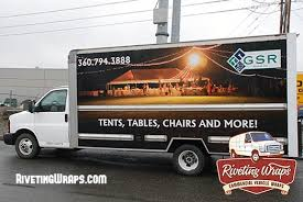 seattle party rentals the party s this way new box truck wrap for gsr rentals wa