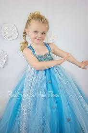 Halloween Elsa Costume Elsa Tutu Dress Elsa Frozen Tulle Dress Elsa Glittermebaby