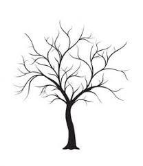 diy fingerprint tree poster instant download small parties
