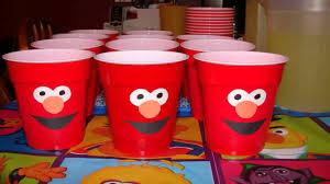 elmo party supplies diy elmo party decor