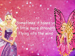 barbie mariposa u0026 fairy princess friend lyrics video
