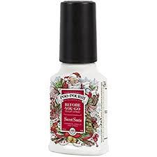secret santa claus poo pourri bathroom spray