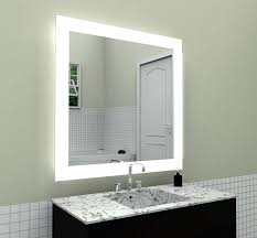 backlit bathroom mirror home depot lighted mirrors side view on