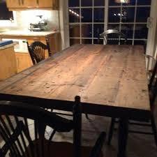 table cuisine en bois table de cuisine ancienne en bois maison design bahbe com brut
